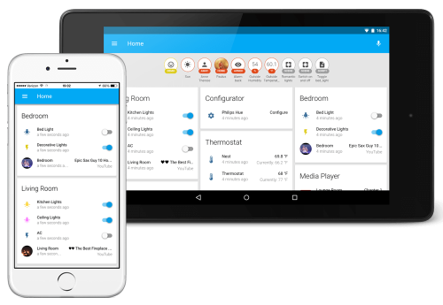 Home Assistant UI
